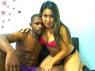 1boy_1girl, couple live sex, swallow, vibrator