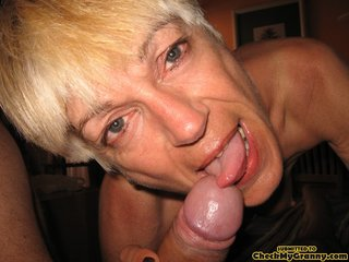 pretty granny loves cock