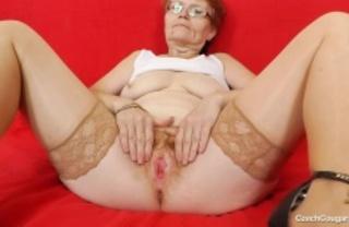 naughty grandma bends work