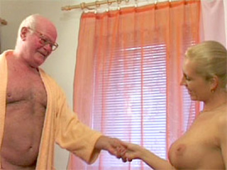 retired grandpa enjoys good