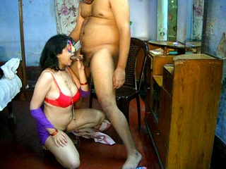 dirty indian housewife giving