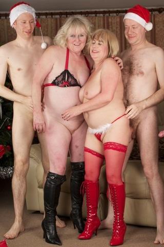 Granny orgies