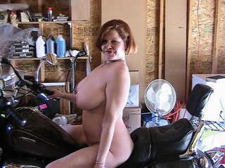 leather misha milf from