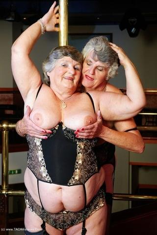 lesbian sex grandma libby
