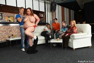 orgy bar features drunken