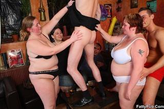 huge chicks bar drunk