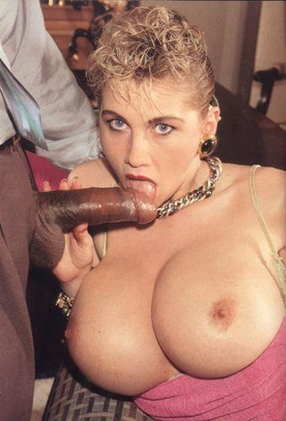 big-titted retro blondie swallows