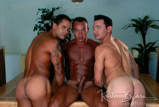 horny wild gays kissing