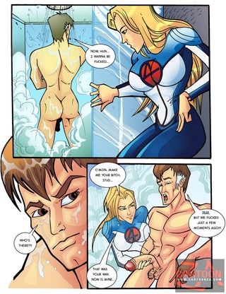 invisible woman sucks fantastics
