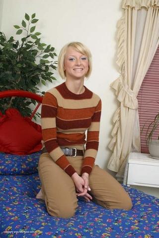 flexible blonde teeny undresses