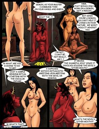 Satan and porn
