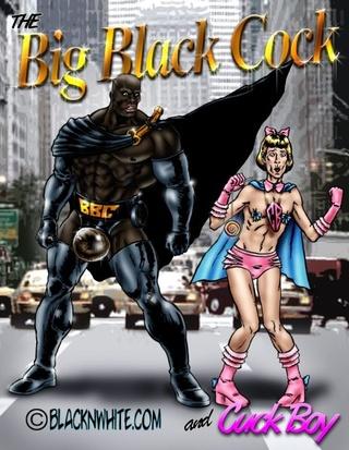 super héros Cartoon photos porno