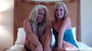 hot horny blonde sluts