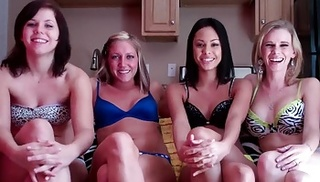three hot milfs tease