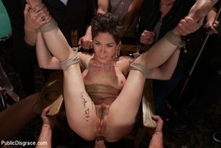 nude blindfolded chick fucked
