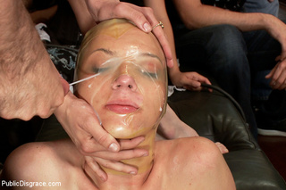 chick enslaved tied fucked