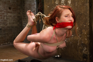 sweet babe tied choked