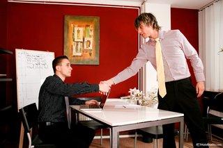desk, gay, interview