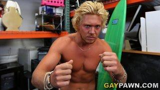 blonde, gay