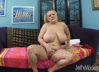nasty pigtailed blonde bbw