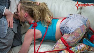 blonde, bondage, rough sex