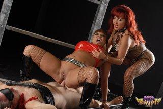 nasty chick red bra