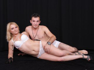 1boy_1girl, couple live sex, shoulder length hair, white