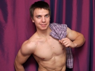 brunette young man angel