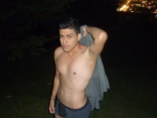brunette young man santiago