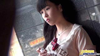 lovely japanese teen red