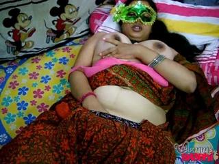 masked indian milf brown