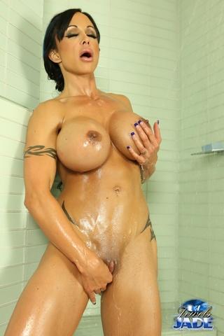 tattooed busty seductress takes