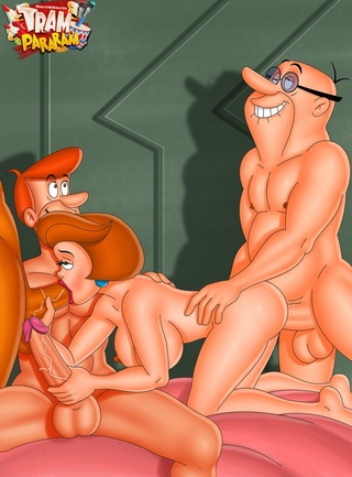 Speaking, Jetsons cartoon sex