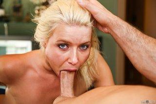 blonde, deep throat, panties, rough sex
