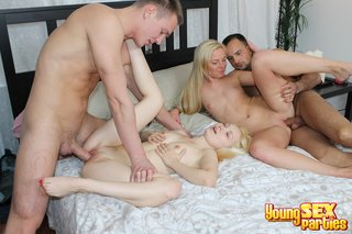 fair-skinned blondes guys bed