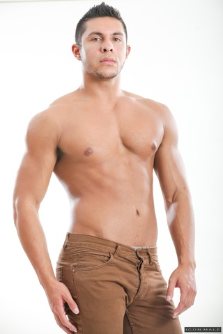 muscular stud poses fitted