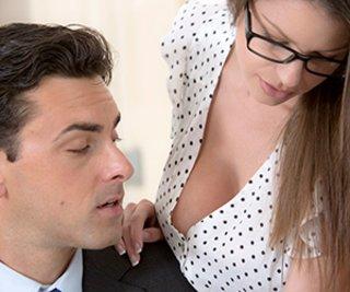 boss, office, office sex, pantyhose