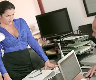 erotica, office sex, pantyhose, secretary