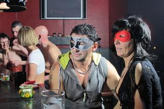 mature hotties masquerade party