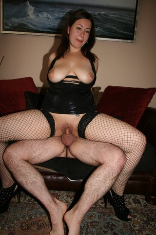 black, homemade, stockings, stud