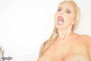 bikini, individual model, perfect, shower