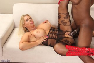 black, individual model, stockings, white