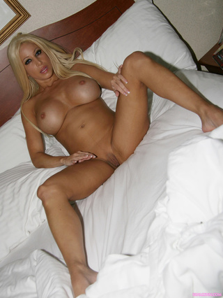 sleeping blonde beauty hot