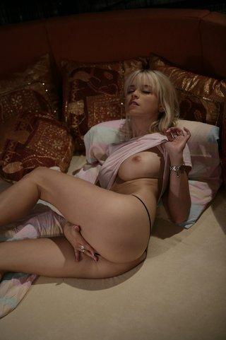skinny amazingly sexy blonde