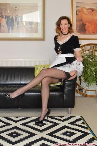 luscious maid foxy body