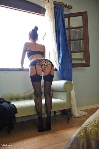 beauty, individual model, pantyhose, underwear