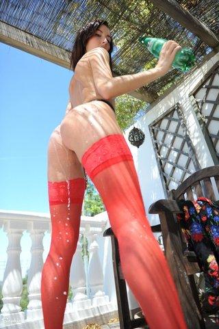babe, individual model, pantyhose, stockings