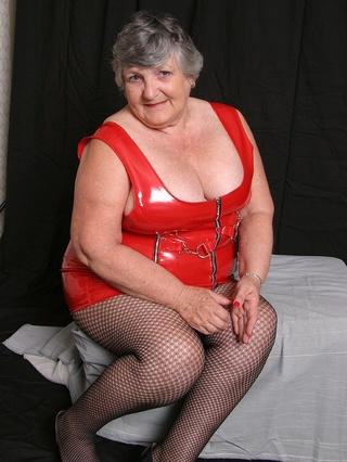 hot granny shows huge