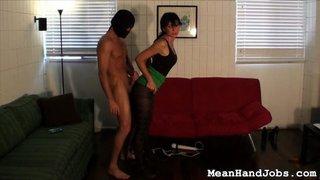 femdom, handjob, mistress, slave