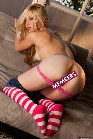 blonde, erotica, shorts, socks